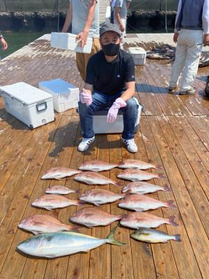 海上釣堀 辨屋の2021年7月26日(月)1枚目の写真