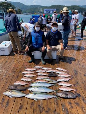 海上釣堀 辨屋の2021年7月28日(水)2枚目の写真