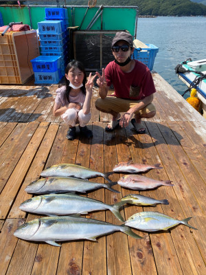 海上釣堀 辨屋の2021年7月29日(木)1枚目の写真