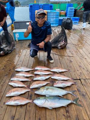 海上釣堀 辨屋の2021年7月30日(金)2枚目の写真