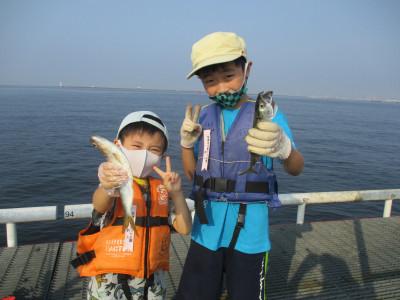 尼崎市立魚つり公園の2021年7月31日(土)1枚目の写真
