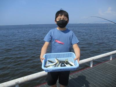 尼崎市立魚つり公園の2021年7月31日(土)2枚目の写真