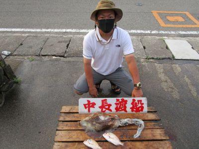 中長渡船の2021年7月31日(土)3枚目の写真