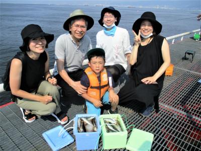 尼崎市立魚つり公園の2021年8月1日(日)1枚目の写真