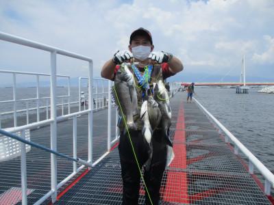 尼崎市立魚つり公園の2021年8月1日(日)3枚目の写真
