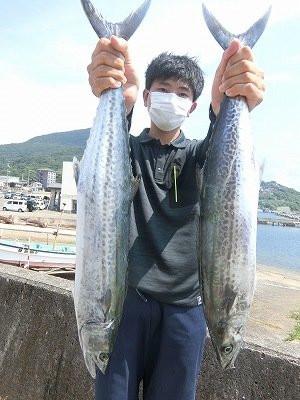 上野渡船の2021年8月1日(日)2枚目の写真