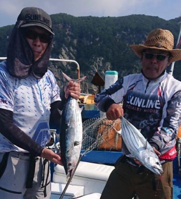 フィッシングボート 清和丸の2021年8月1日(日)2枚目の写真