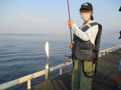 尼崎市立魚つり公園の2021年8月2日(月)1枚目の写真