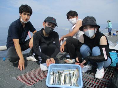 尼崎市立魚つり公園の2021年8月2日(月)2枚目の写真