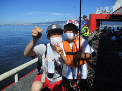 尼崎市立魚つり公園の2021年8月4日(水)1枚目の写真