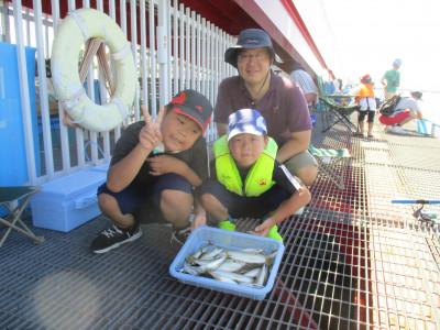 尼崎市立魚つり公園の2021年8月4日(水)2枚目の写真