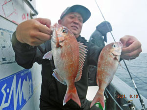 第一大漁丸の2021年8月13日(金)3枚目の写真