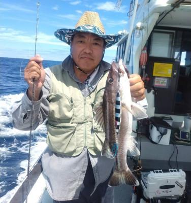 遊漁船ビックボーイの2021年8月16日(月)3枚目の写真