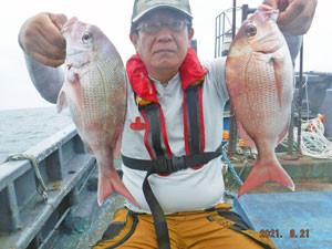 第一大漁丸の2021年8月21日(土)1枚目の写真