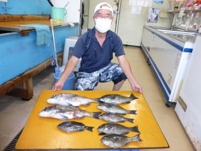 柴釣具商会の2021年8月22日(日)1枚目の写真