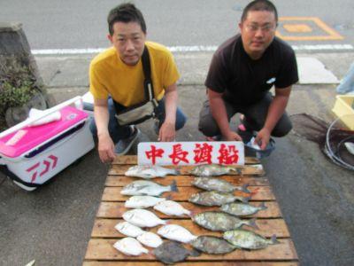 中長渡船の2021年8月27日(金)1枚目の写真