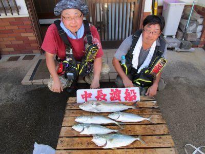 中長渡船の2021年8月28日(土)2枚目の写真
