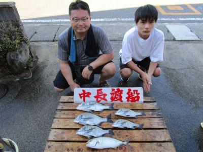 中長渡船の2021年8月30日(月)2枚目の写真