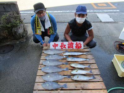中長渡船の2021年8月30日(月)4枚目の写真