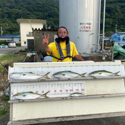 大島フィッシングの2021年9月2日(木)1枚目の写真