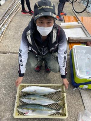 垂水一文字船長丸(海神丸)の2021年9月5日(日)3枚目の写真