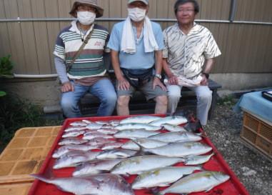 奥村釣船の2021年9月6日(月)2枚目の写真