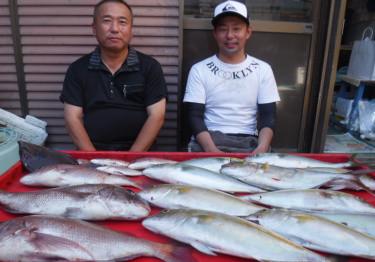 奥村釣船の2021年9月6日(月)3枚目の写真