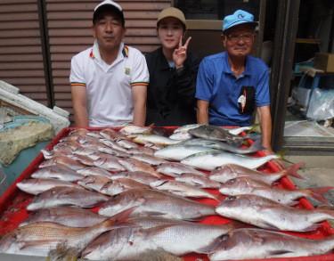奥村釣船の2021年9月13日(月)3枚目の写真