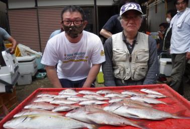 奥村釣船の2021年9月19日(日)2枚目の写真