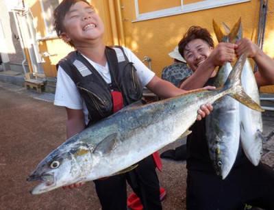 丸銀釣りセンターの2021年9月19日(日)1枚目の写真
