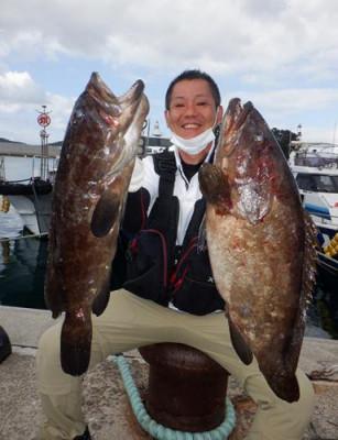 丸銀釣りセンターの2021年9月19日(日)2枚目の写真