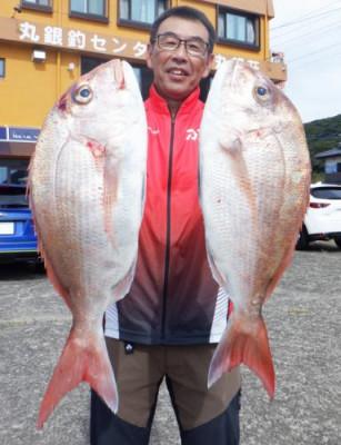 丸銀釣りセンターの2021年9月24日(金)1枚目の写真