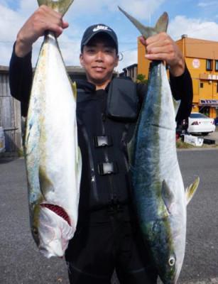 丸銀釣りセンターの2021年9月24日(金)2枚目の写真