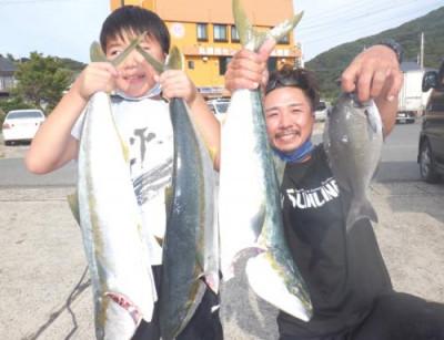 丸銀釣りセンターの2021年9月25日(土)1枚目の写真