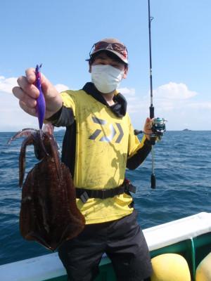 釣り船 久勝丸の2021年9月25日(土)1枚目の写真