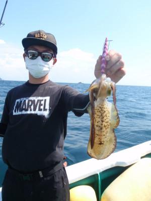 釣り船 久勝丸の2021年9月25日(土)3枚目の写真