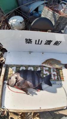 築山渡船の2021年10月2日(土)1枚目の写真