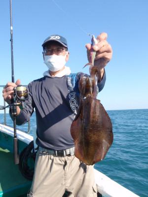 釣り船 久勝丸の2021年10月2日(土)1枚目の写真
