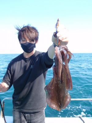 釣り船 久勝丸の2021年10月3日(日)2枚目の写真