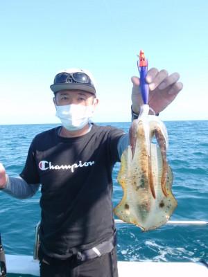 釣り船 久勝丸の2021年10月3日(日)3枚目の写真