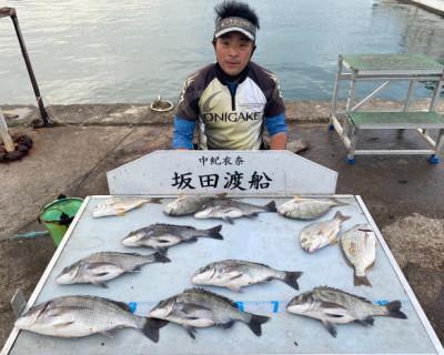 坂田渡船の2021年10月11日(月)2枚目の写真
