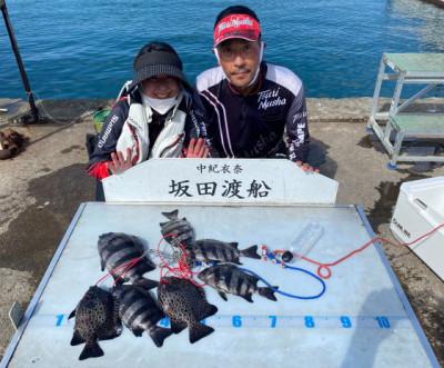 坂田渡船の2021年10月12日(火)1枚目の写真