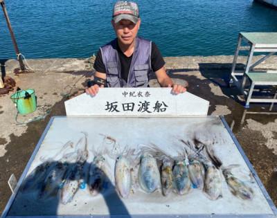 坂田渡船の2021年10月14日(木)1枚目の写真
