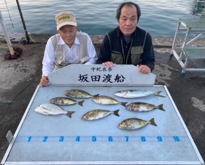 坂田渡船の2021年10月15日(金)1枚目の写真