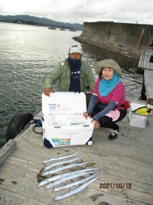 安乗釣センターの2021年10月16日(土)4枚目の写真
