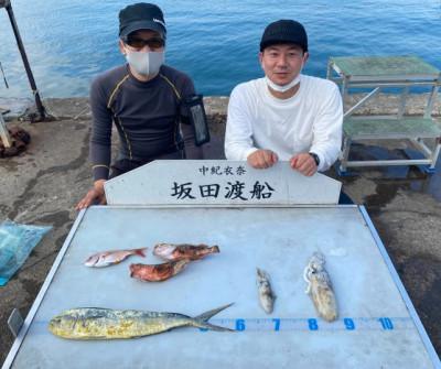 坂田渡船の2021年10月16日(土)1枚目の写真