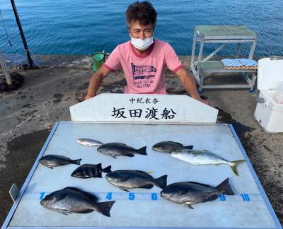 坂田渡船の2021年10月16日(土)2枚目の写真