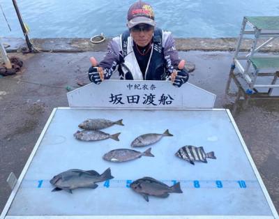 坂田渡船の2021年10月16日(土)3枚目の写真