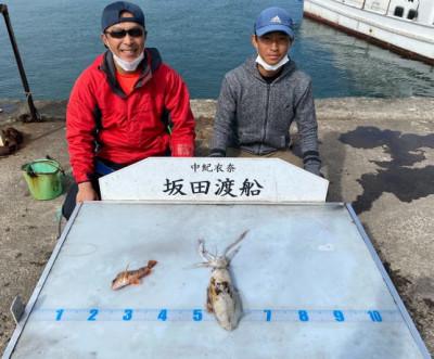 坂田渡船の2021年10月18日(月)1枚目の写真