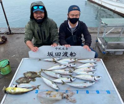 坂田渡船の2021年10月19日(火)1枚目の写真